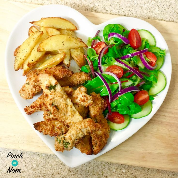 Syn Free Garlic Lemon and Parsley Chicken Goujons | Slimming World