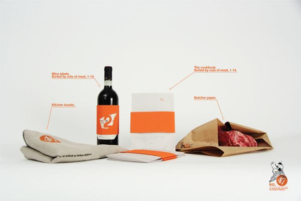 Ko. A cookbook concept. by Anders Wallner, via Behance