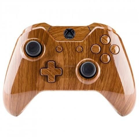 ModFreakz® Shell/Button Kit Hydro Dipped Wood Grain For Xbox One Model 1697 ControllersPerfect gaming accessories for Xbox One gamers, gamer girls, g…