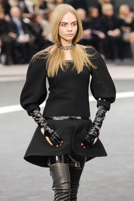 Cara Delevingne for Chanel Fall/Winter 2013 Ready-to-Wear