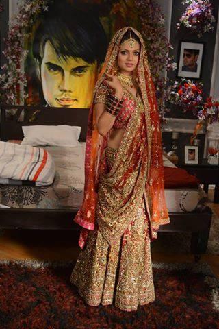 Madhubala Drashti Dhami Bridal