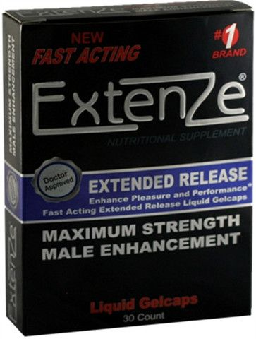 EXTENZE EXTENDED RELEASE GEL CAPS - 30 COUNT $49.50 http://bad-honey.myshopify.com/products/extenze-extended-release-gel-caps-30-count