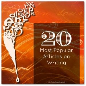 This Week's 20 Most Popular Articles On Writing, Self-Publishing and Book Promotion (Week 17) - http://novelexperience.info/20-most-popular-articles-on-writing-self-publishing-week-17/