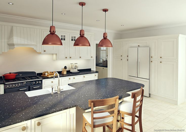 Academy Cotswood Traditional Kitchen in Off White
