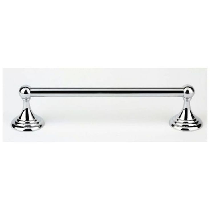 Alno A9020 12 Embassy Series 12 Inch Wide Towel Bar Polished Chrome Bathroom Hardware Towel Bar In 2020 Bathroom Hardware Polished Chrome Chrome