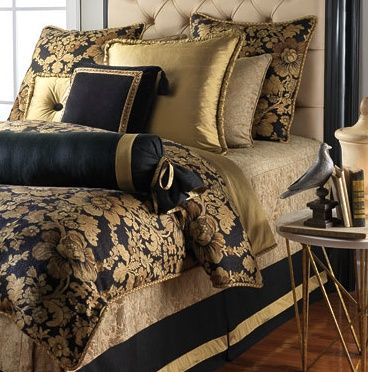 28 best images about Black and Gold Bedroom on Pinterest