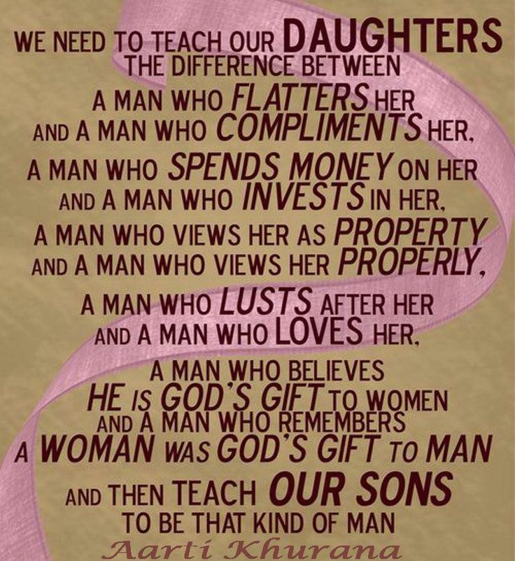 Teach Your Daughters Well.