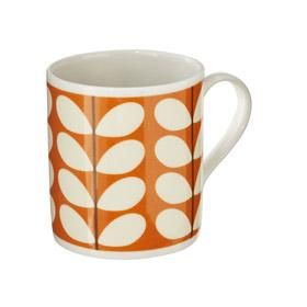 Orla Kiely - Mug - Stem Print Orange http://www.sandsgifts.co.uk/orla-kiely-mug-scribble-multi-stem.ir