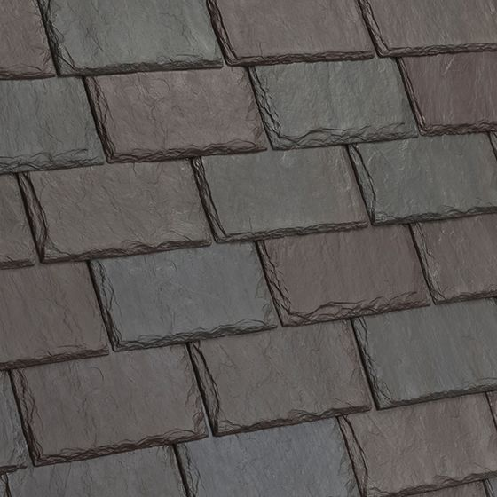 Good Single Width Synthetic Slate Roof Tiles | DaVinci Roofscapes