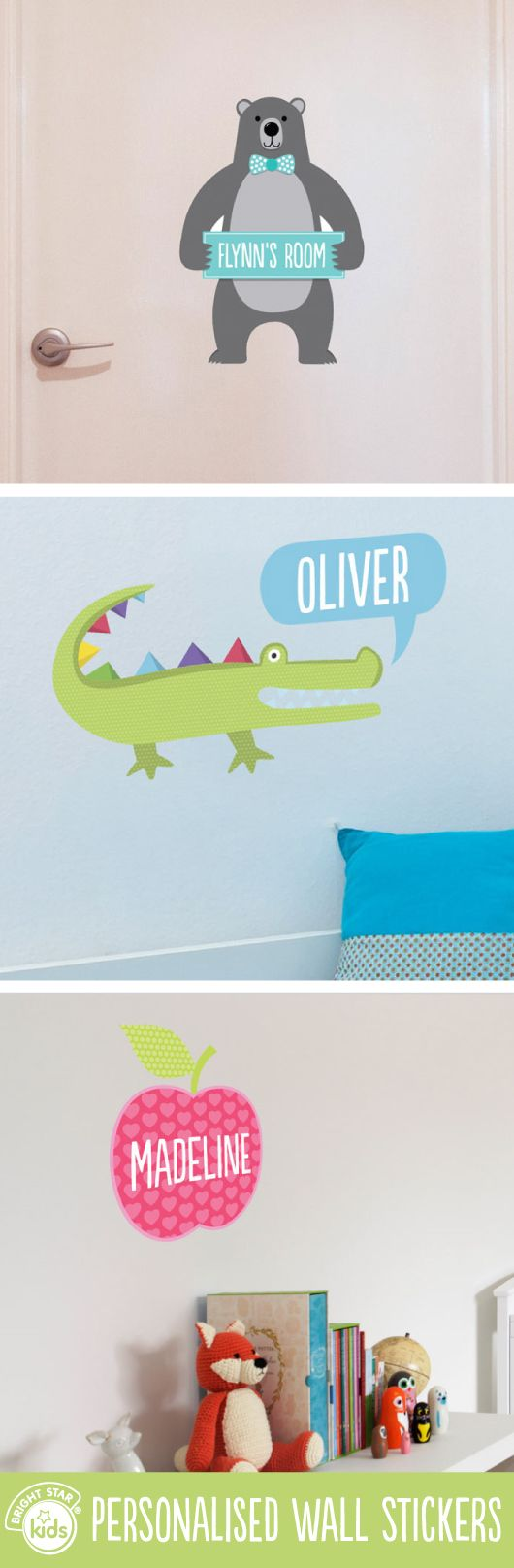 best 25 personalised wall stickers ideas on pinterest removable wall stickers make decorating girls and boys rooms easy