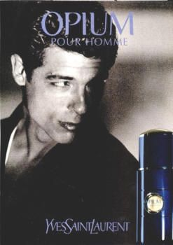 Opium Pour Homme by Yves Saint Laurent with Alessandro Gassman (1999).