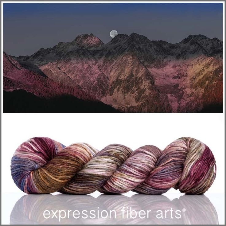 Sap moon 'pearlescent' worsted