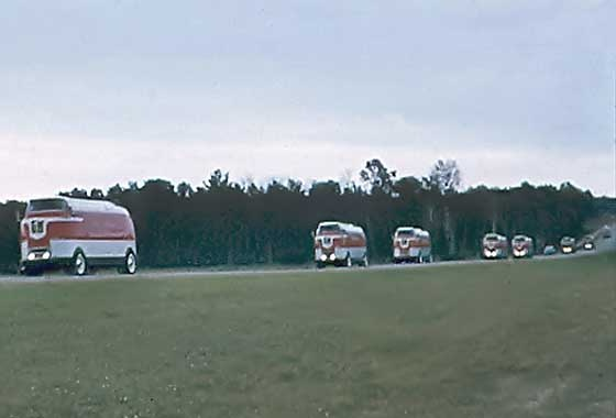 GM Futurliner convoy