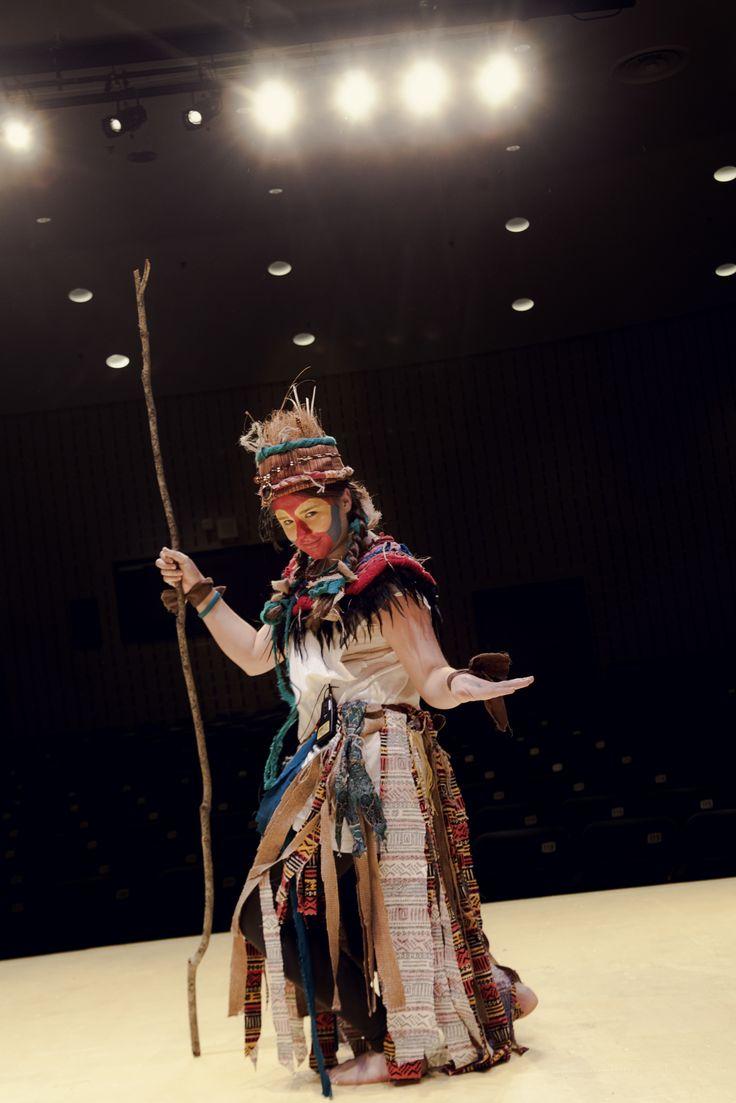'rafiki Lion King 8th grade drama Edwards Middle School  Costume