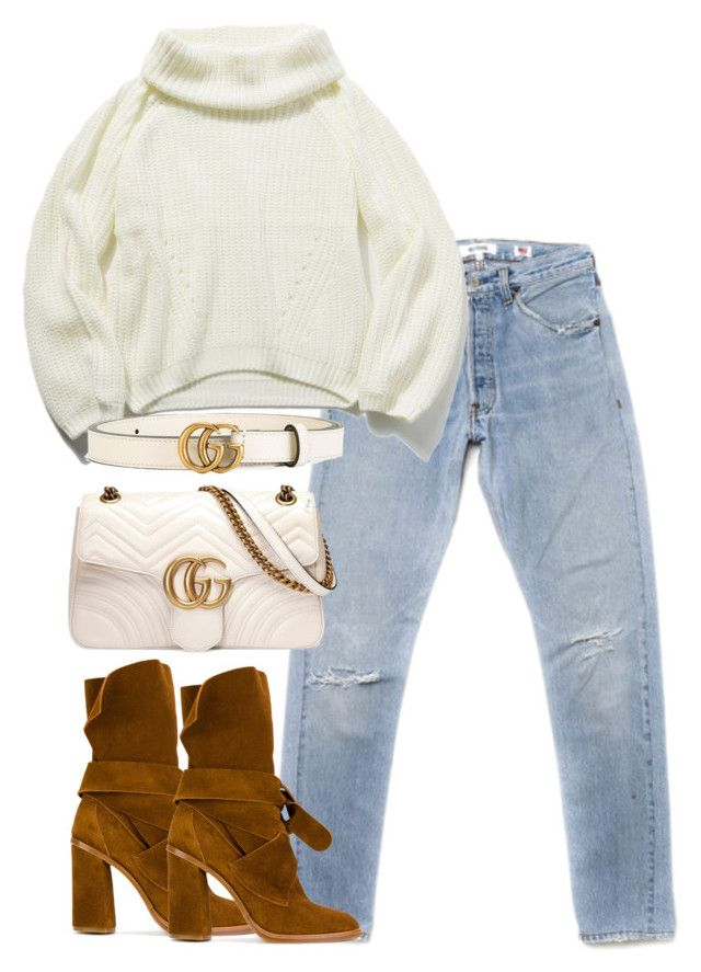 """""""Untitled #4780"""" by theeuropeancloset on Polyvore featuring Casadei and Gucci"""