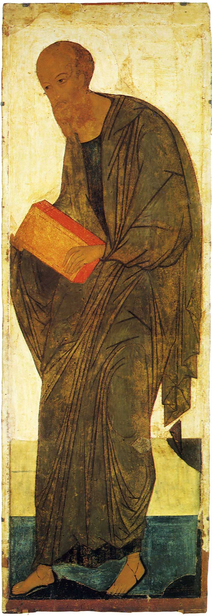 Успенский собор, Владимир. Деисусный чин (Васильевский чин) Апостол Павел