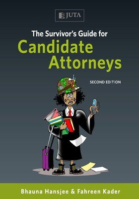 To celebrate #WorldBookDay Juta Law is giving away a copy of The Survivor's Guide for Candidate Attorneys. Follow @Juta Oscar'sLaw Law on Twitter. RT to stand a chance to win. Winners will be announced at 10am 24 April. http://buzz.mw/bp7ox_l