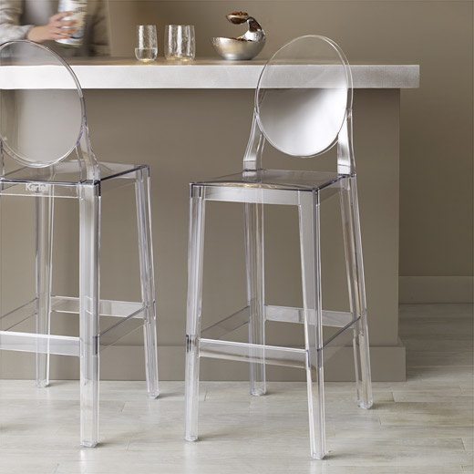 1000 ideas about acrylic bar stools on pinterest retro bar stools bar sto - Tabouret de bar starck ...