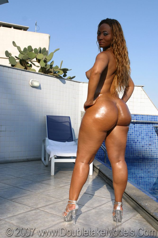 Nude big black brazilian booty — img 12