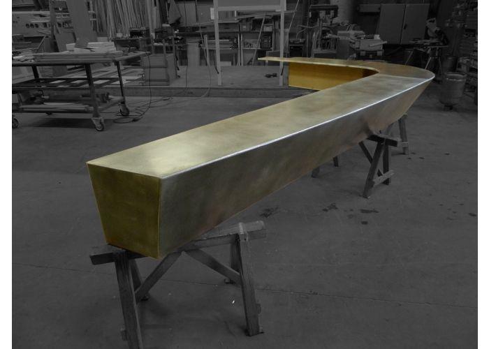 Recouvrir une table de zinc cool best vieux bars en zinc - Plaque de zinc pour recouvrir un meuble ...