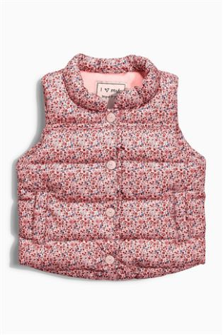 Buy Pink Ditsy Gilet (3mths-6yrs) online today at Next: Australia