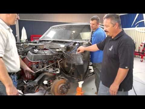 On this episode of The Build, the team is focusing on the interior. They're removing the dash, the steering wheel, steering column, heater box, emergency brake, and more. Rick will even go into some history on on the Chevy Malibu's 'cup holders'. Enjoy and be sure to follow along on Facebook: http://www.facebook.com/AmericanModernCollectorCar #TheBuild @American Modern Insurance Group