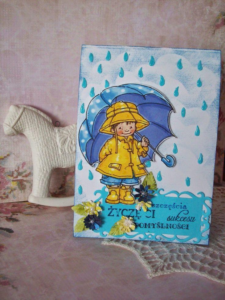 Moje biurko: Na pogodne i deszczowe dni :)