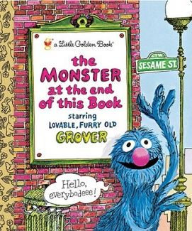 Monster at the End of the Book (Little Golden Books)