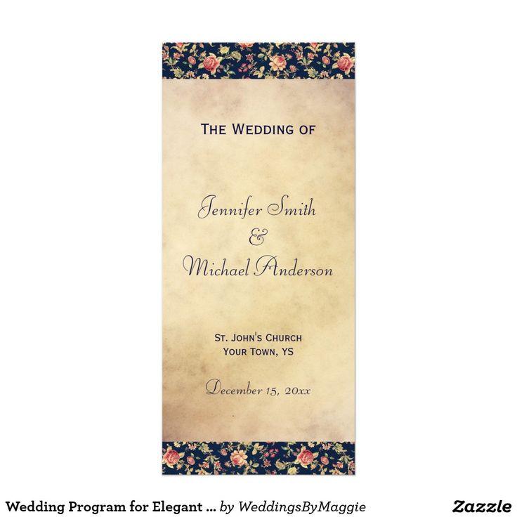 The 701 best Wedding: Ceremony Programs images on Pinterest ...