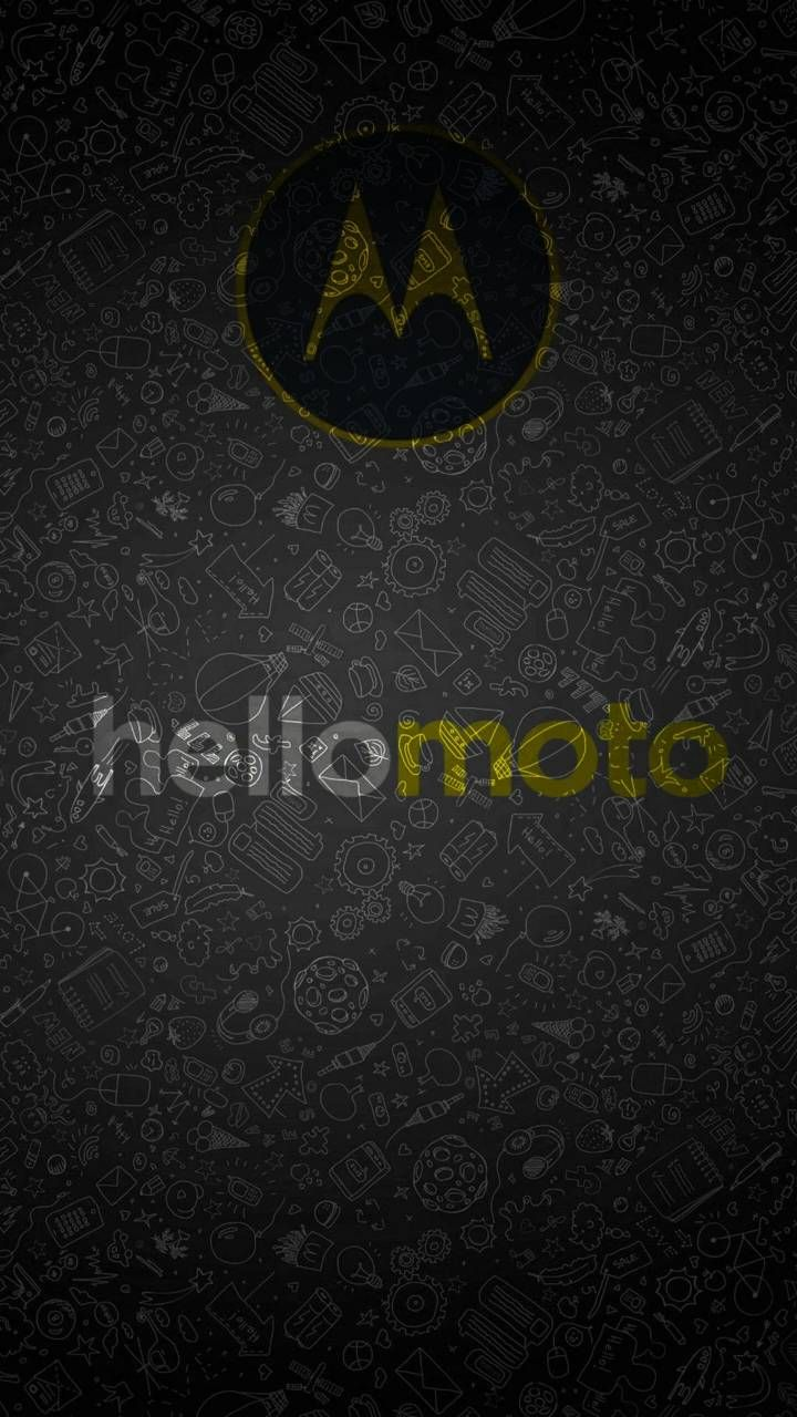 Download Hello Moto Black Wallpaper By Boby Artur D1