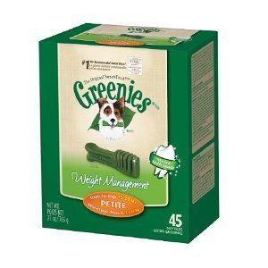 27% off Greenies dog treats