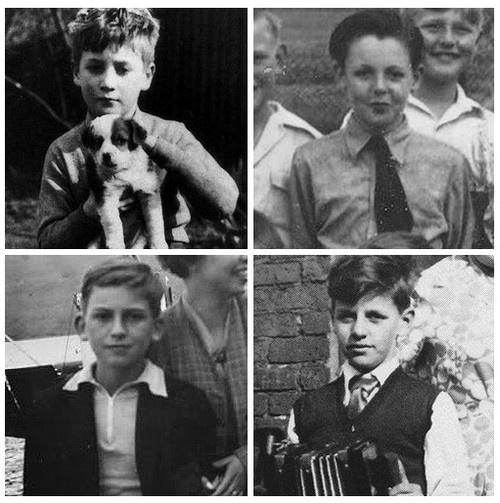 The Beatles as children