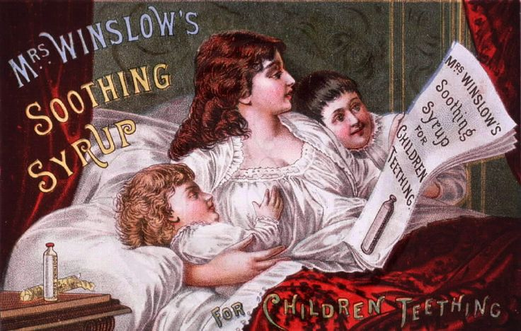 Mrs Winslow's soothing syrup #nostalgia