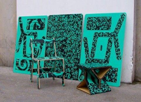 Originales muebles para armar