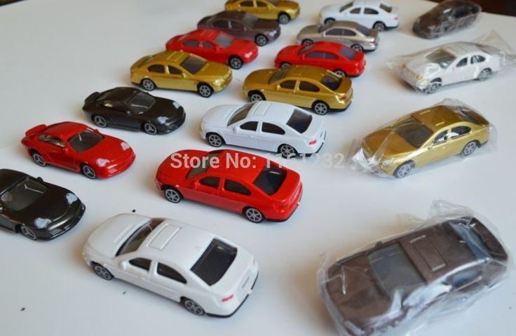 1 : 75 автомобили миниатюры, Модели-архитектура автомобильные комплекты, Мини-умный автомобиль игрушки, Пластиковая модель автомобиля