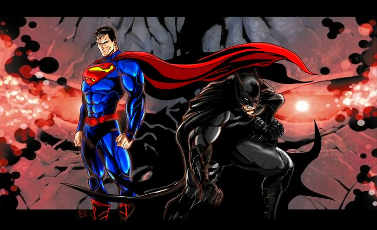 Batman  Superman Darkseid new 52 - MLG13 by Moislopez.deviantart.com on @deviantART