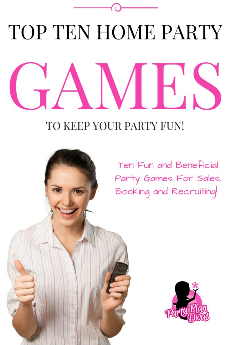 Home Party Plan Games for direct sales home parties, party plan with confidence…