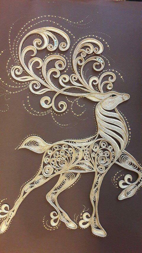 What a gorgeous one  #handmade #art #design