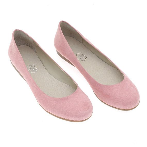 NEW! Blush Pink comfortable vegan leather ballet flats! Bridal shoes, Bridesmaid shoes, Prom shoes Boho chic womens flats, womens slip ons,
