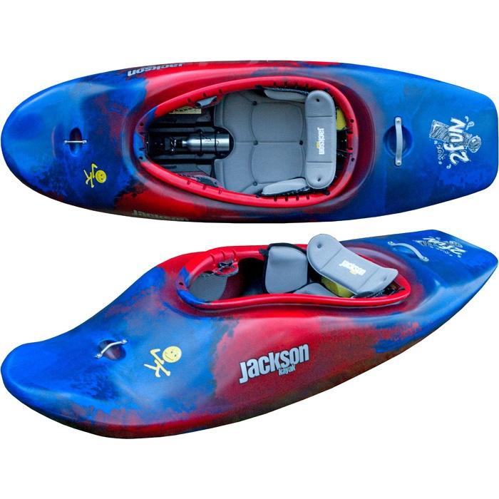 Super cute, a kids kayak for the 2 and up #jacksonkayak #rockcreek