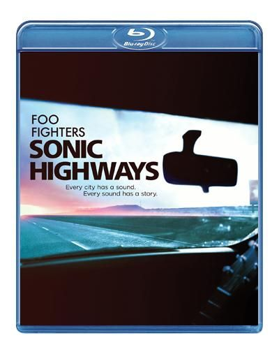 "Lo splendido documentario dei #FooFighters intitolato ""Sonic Highways"" su 3 dischi Blu-ray."
