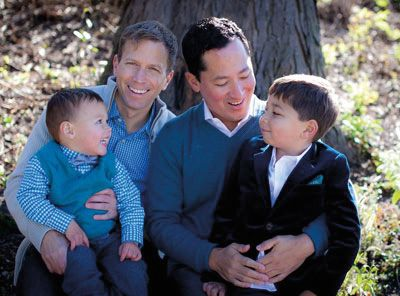 with more gay men considering adoption and child rearing