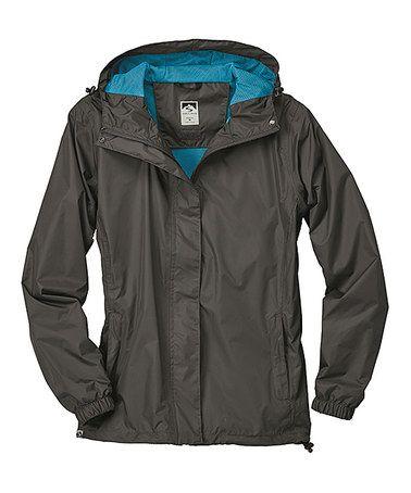 This Jet Waterproof Lightweight Packable Rain Jacket - Women & Plus is…