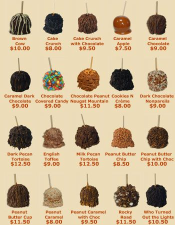 Candy Chocolate Caramel Apples | Candy Apple Shoppe