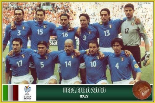 축구 명경기 유로2000 이탈리아 VS 네덜란드