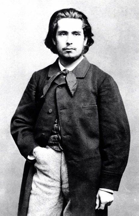 Claude Monet en 1865.