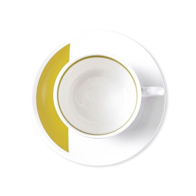 Tasse à thé en porcelaine 20cl - Lot de 6 - LOUISON BRUNO EVRARD