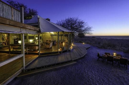 Gondwana Tours & Safaris presents: Kalahari Plains Camp (Central Kalahari, Botswana)