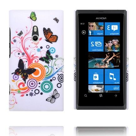 Valentine (Diverse Sirkler & Sommerfugler) Nokia Lumia 800 Deksel