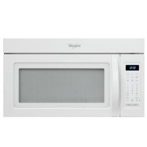 1 7 cu ft over the range microwave in white - Red over the range microwave ...